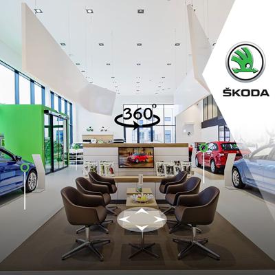 Showroom Skoda
